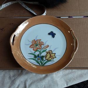 Vintage Noritake Lusterware Platter